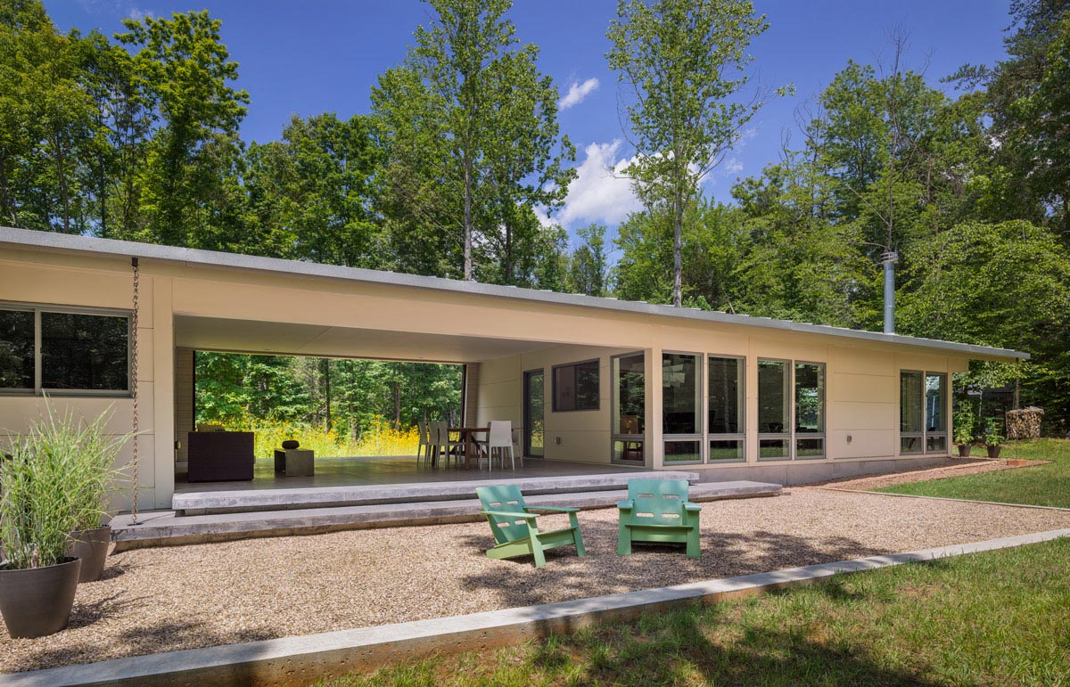 Houzz design workshop the modern dogtrot for Dogtrot home plans