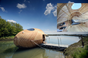 In pursuit of COOL: The Exbury Egg by Pad Studio, Spud Group and Stephen Turner.